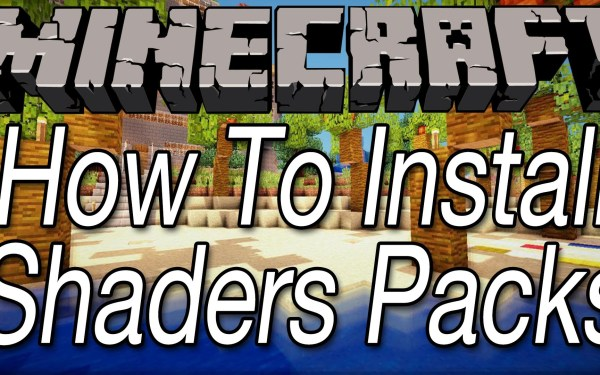 How to install a Shader Packs Thumbnail