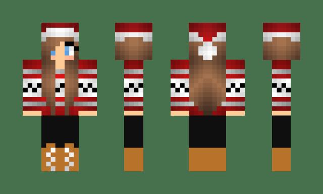 Minecraft Christmas Skin 4
