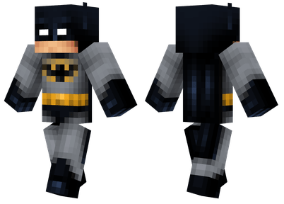 Batman Minecraft Skins