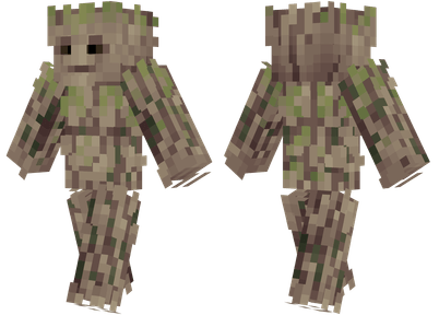 Groot Minecraft Skins