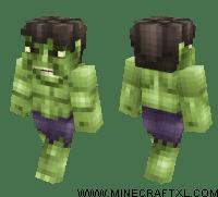 The Hulk Minecraft Skin Download
