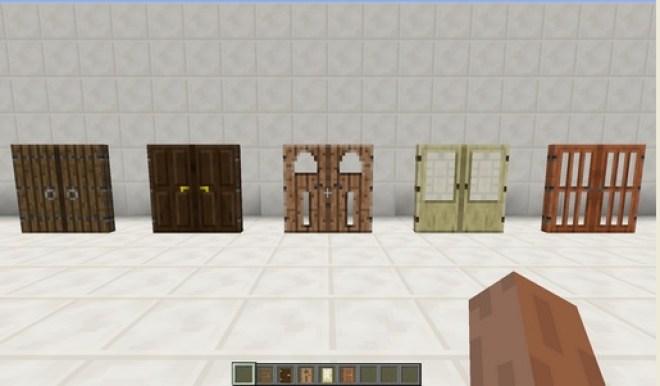 Malisis Doors Mod 12