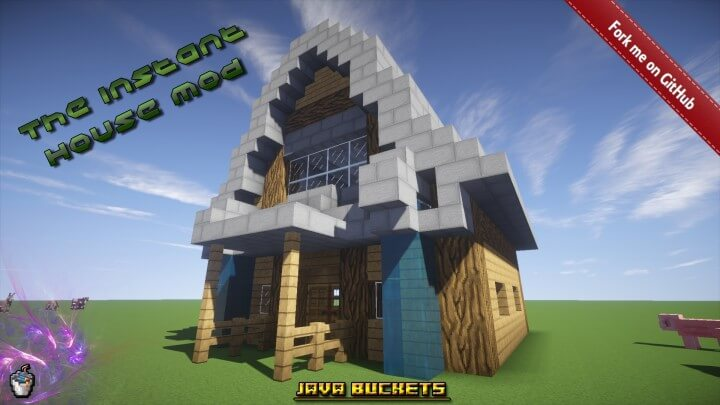 Instant House Mod 1.14/1.13.2/1.12.2/1.11.2