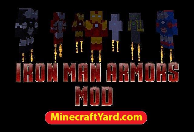 Iron Man Armors Mod 1.14/1.13.2/1.12.2/1.11.2