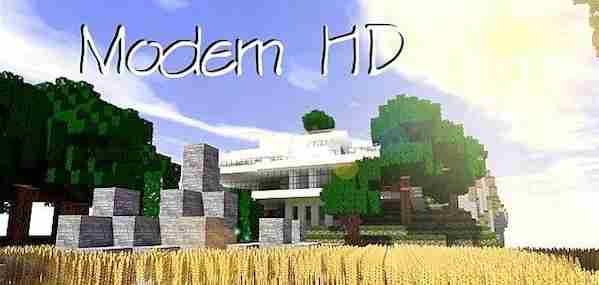 Modern HD Resource Pack 1.13.1/1.13/1.12.2/1.11.2