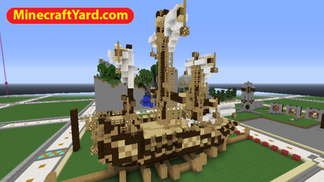 Ships Mod for Minecraft