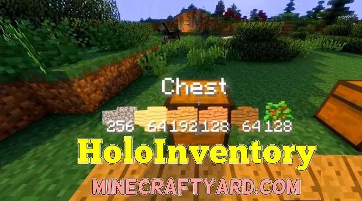 HoloInventory Mod 1.14/1.13.2/1.12.2/1.11.2