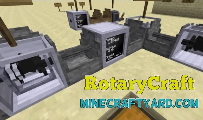 RotaryCraft Mod 1.14/1.13.2/1.12.2/1.11.2