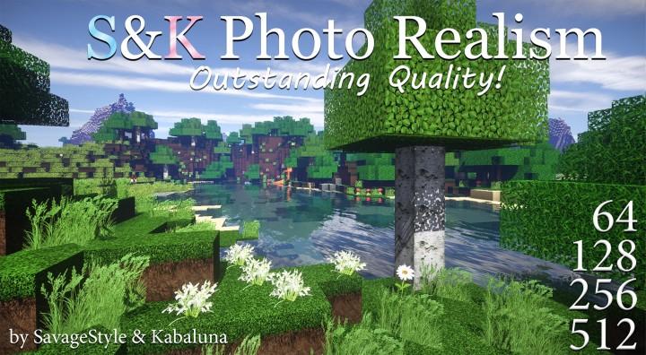 S&K Photo Realism Resource Pack 1.16.3/1.16.2/1.15.2