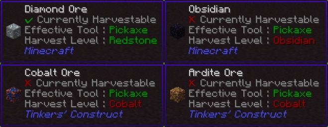Waila Harvestability Mod