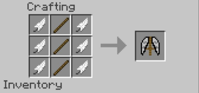 Fly Mod Crafting Recipe