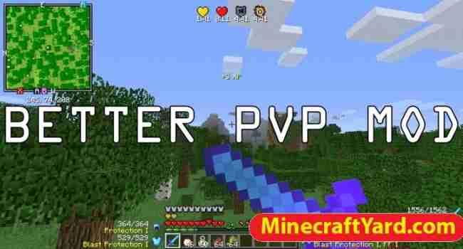 Better PvP Mod 1.15.2/1.14.4/1.13.2/1.12.2/1.11.2