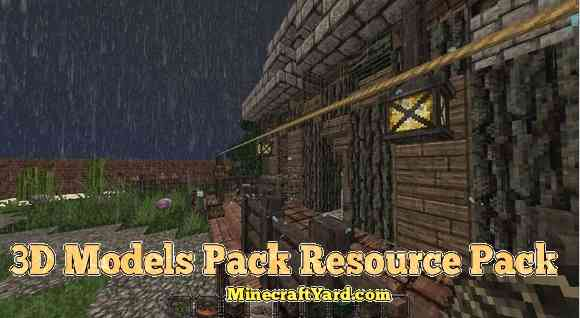 3D Models Pack for Conquest for 1.13.1/1.13/1.12.2/1.11.2