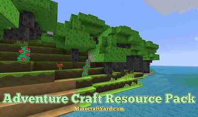 Adventure Craft Resource Pack 1.13.1/1.13/1.12.2