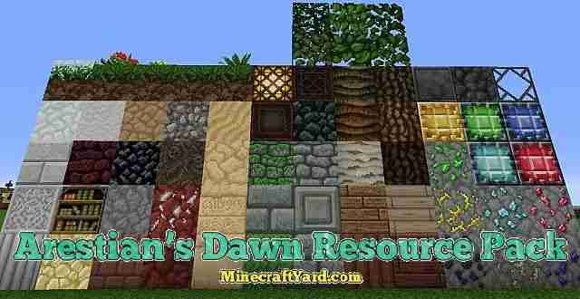 Arestians Dawn Resource Pack 1.16.5/1.15.2