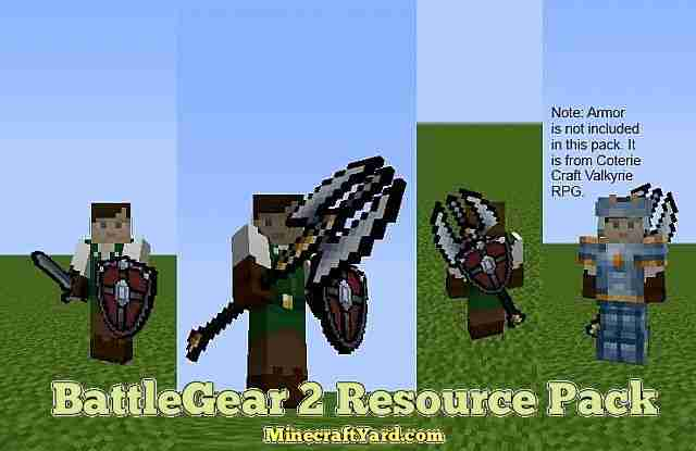 BattleGear 2 Resource Pack 1.16.5/1.15.2