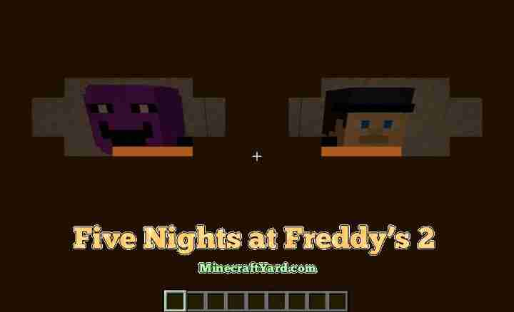 Five Nights at Freddys 2 Resource Pack 1.16.5/1.15.2
