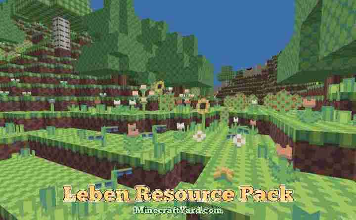 Leben Resource Pack 1.16.3/1.15.2