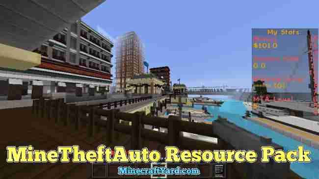 MineTheftAuto Resource Pack 1.16.4/1.15.2
