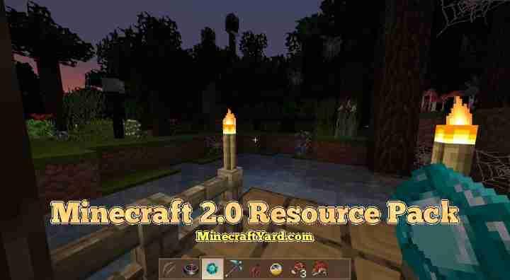 Minecraft 2.0 Resource Pack 1.16.5/1.15.2