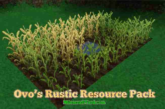 Ovo's Rustic Resource Pack 1.16.5/1.15.2