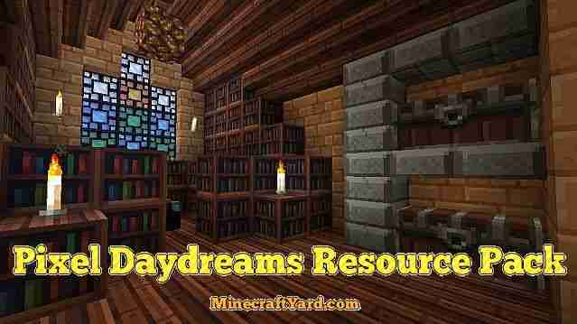 Pixel Daydreams Resource Pack 1.16.5/1.15.2