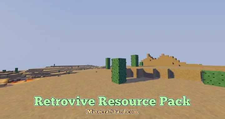 Retrovive Resource Pack 1.16.3/1.15.2