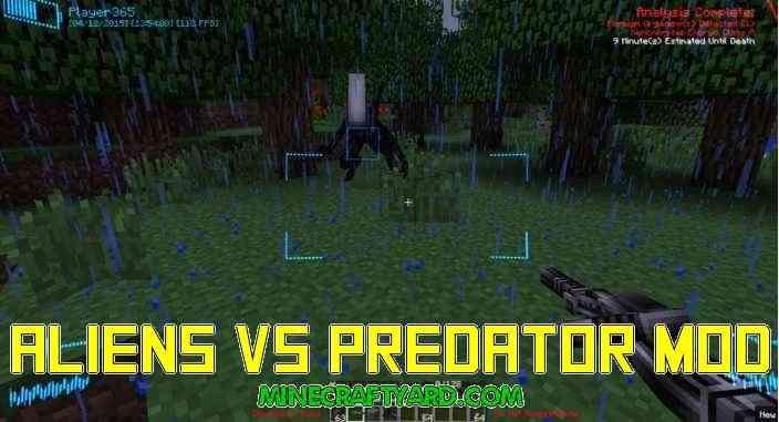 Aliens Vs Predator Mod 1.14/1.13.2/1.12.2/1.11.2