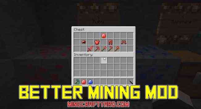 Better Mining Mod 1.16.4/1.15.2