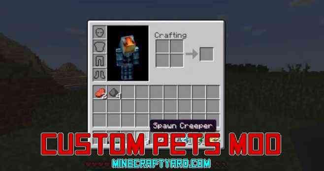 Custom Pets Mod 1.16.5/1.15.2