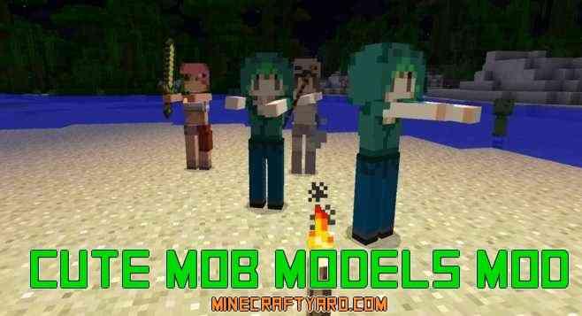 Cute Mob Models Mod 1.14/1.13.2/1.12.2/1.11.2