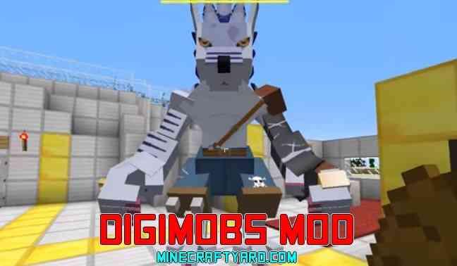 Digimobs Mod 1.14.3/1.13.2/1.12.2/1.11.2