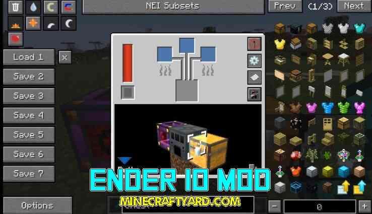 Ender IO Mod 1.16.5/1.15.2