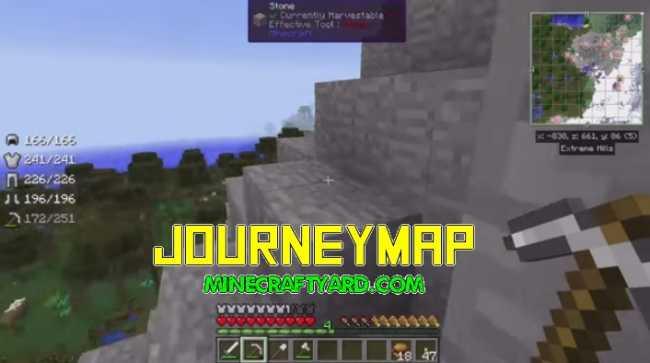 JourneyMap Mod 1.16.5/1.15.2