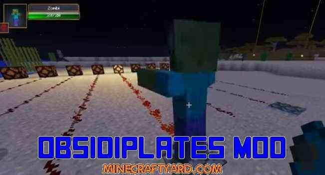 Obsidiplates Mod 1.16.5/1.15.2