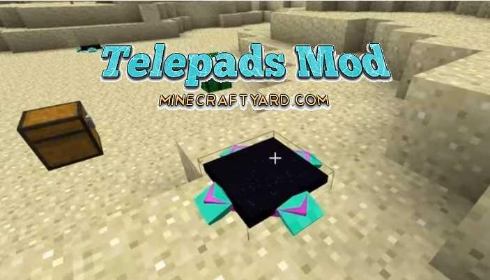 Telepads Mod 1.14/1.13.2/1.12.2/1.11.2