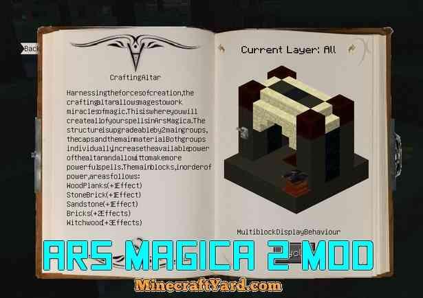 Ars Magica 2 Mod 1.14/1.13.2/1.12.2/1.11.2