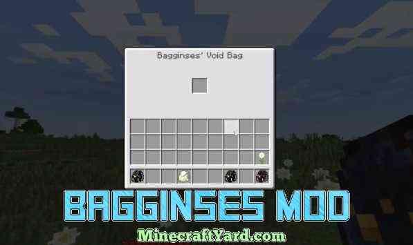 Bagginses Mod 1.14/1.13.2/1.12.2/1.11.2