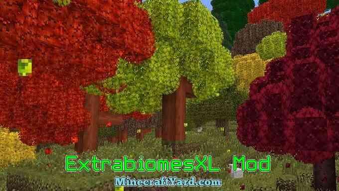 ExtrabiomesXL Mod 1.13.1/1.13/1.12.2/1.11.2