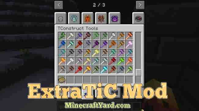 ExtraTic Mod 1.16.4/1.15.2