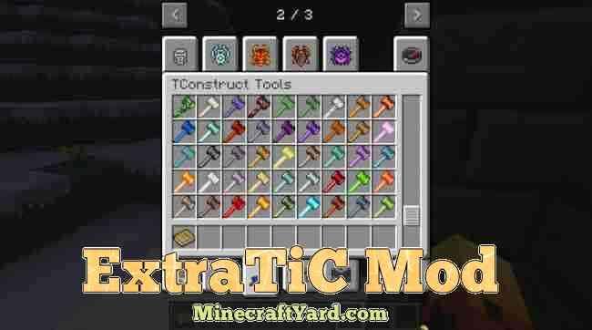ExtraTic Mod 1.16.2/1.16.1/1.15.2
