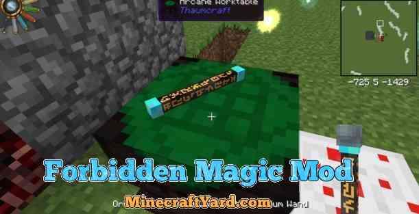 Forbidden Magic Mod 1.16.2/1.16.1/1.15.2