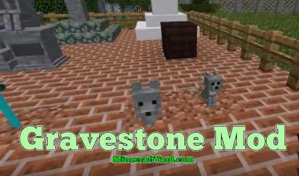 Gravestone Mod 1.15.2/1.14.4/1.13.2/1.12.2/1.11.2