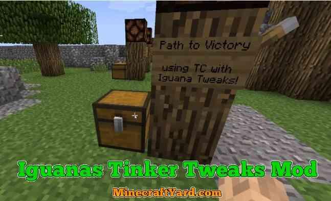 Iguanas Tinker Tweaks Mod 1.16.5/1.15.2