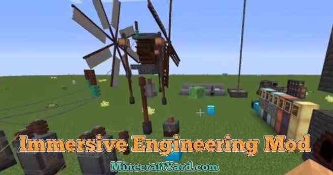 Immersive Engineering Mod 1.14/1.13.2/1.12.2/1.11.2