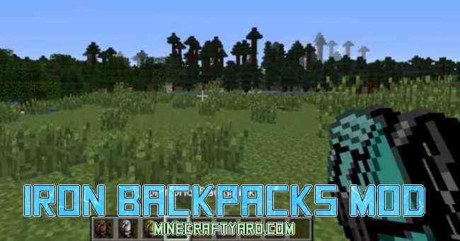 Iron BackPacks Mod 1.14/1.13.2/1.12.2/1.11.2