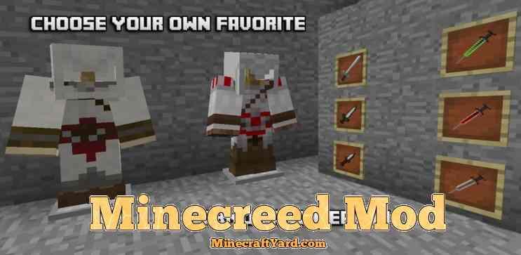 Minecreed Mod 1.13.1/1.13/1.12.2