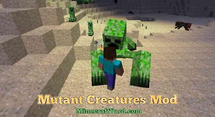 Mutant Creatures Mod 1.16.5/1.15.2