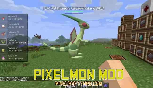 Pixelmon Mod 1.15.2/1.14.4/1.13.2/1.13/1.12.2/1.11.2
