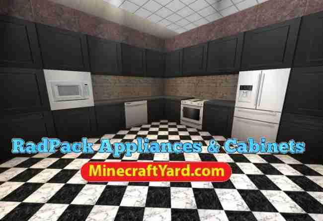 Radpack Appliances and Cabinets Mod 1.16.4/1.15.2
